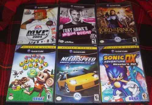 Cajas De Juegos Nintendo Gamecube