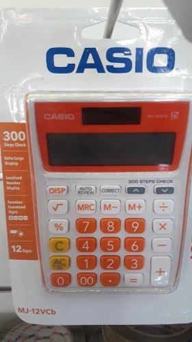 Calculadora Casio 12vcb 12 Digitos