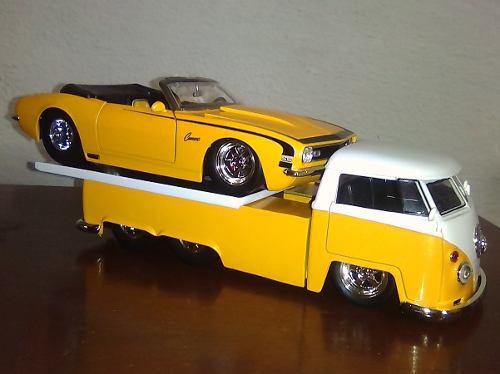 Camaro Ss  & Volkswagen  Escala 1/24 Colección Jada