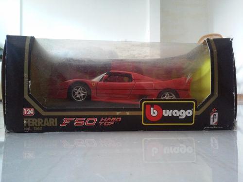 Carro De Coleccion Ferrari F50 Marca Burago