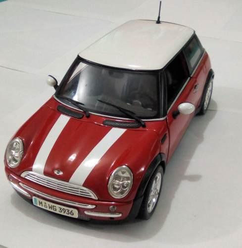 Mini Cooper Carro De Coleccion Escala 1/18 Maisto