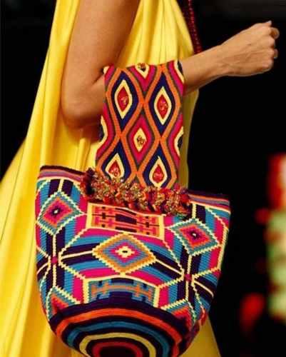 Mochila Wayuu En Varios Colores Y Modelos Tumundowayuu