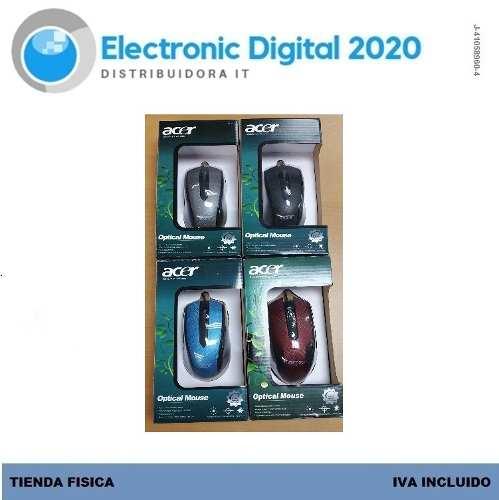 Mouse Optico Marca Acer Usb 2.0