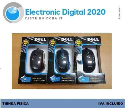 Mouse Optico Marca Dell Usb 2.0