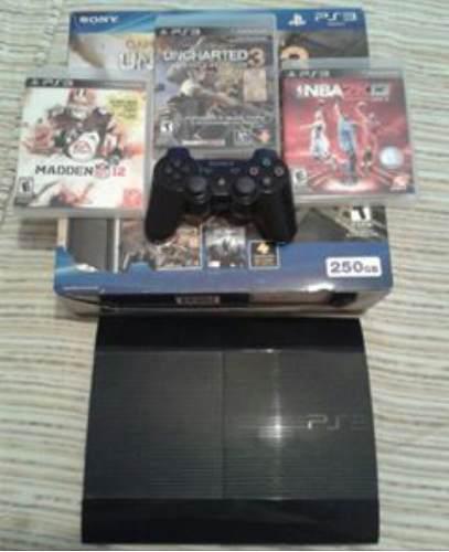 Playstation 3 250gb Con Su Caja Y Un Control Original