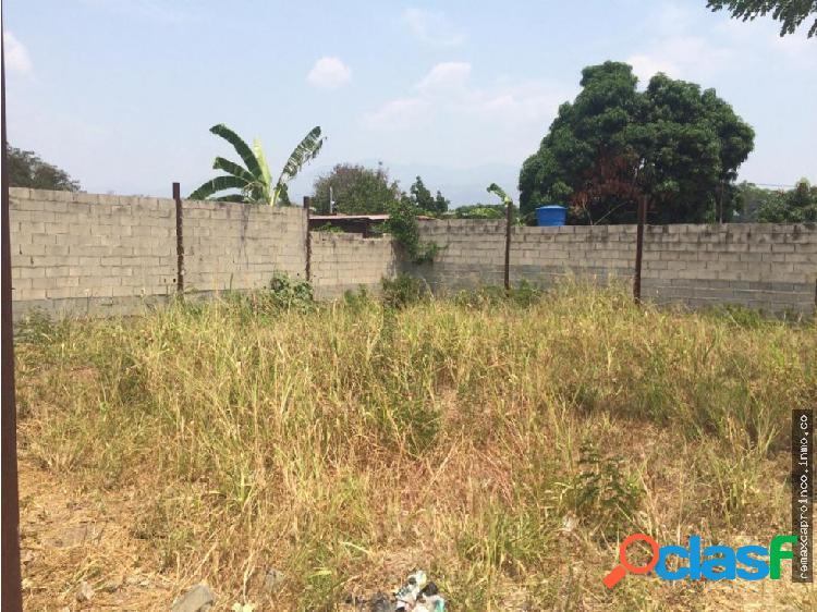 Terreno residencial en Guacara. 375 m2.