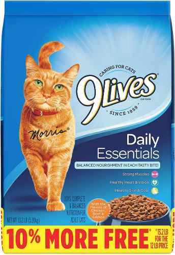 9 Lives Comida Para Gatos 6 Kilos