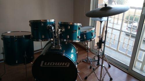Batería Acústica Ludwig Original + Platillos Zildjian