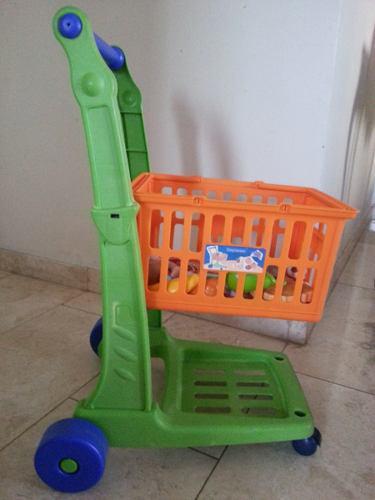Carrito De Compra De Juguete Para Niños