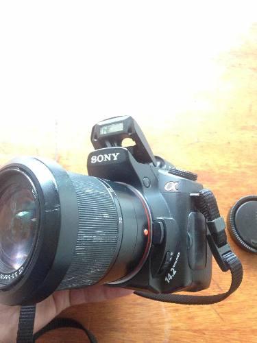 Cámara Profesional Sony Dsrl Alpha 350