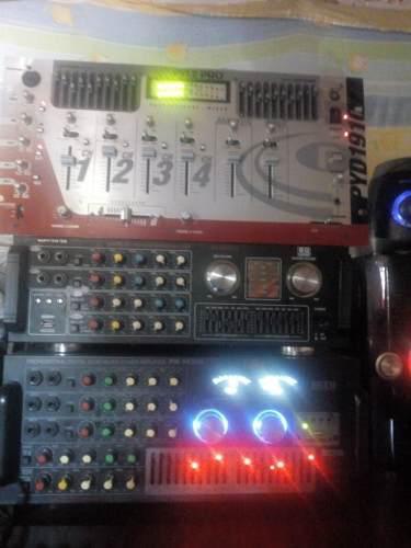 Dos Amplificador Y Un Mesclaro Lo Vendo Por Separado