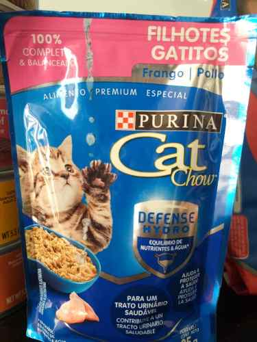 Gatarina Cat Chow Alimento Concentraado Para Gatarina