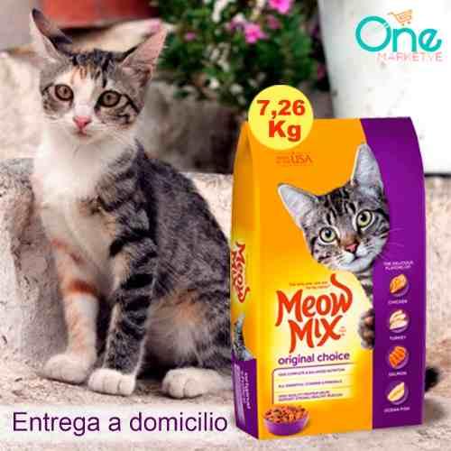 Gatarina Meow Mix Original Choice 16 Lbs (7.26 Kg)