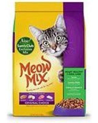 Gatarina Meow Mix Saco  Kg = 24 Lb O Al Detal X C/1kg