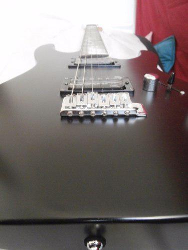 Guitarra Electrica Ltd M50 Nueva Color Negra Mate