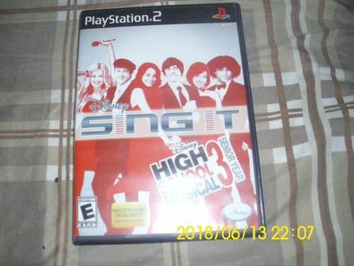Juego De Play 2 High School Musical 3 Original