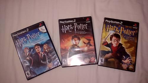 Juegos De Harry Potter Originales Ps2