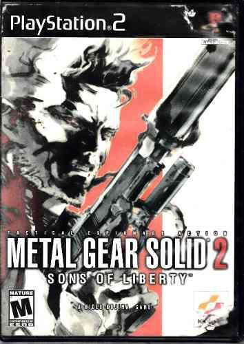 Metal Gear Solid 2 Video Juego De Playstation 2 Original Usa