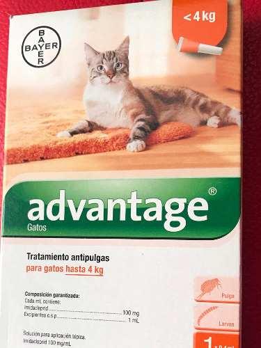 Pipetas Para Gatos Hasta 4 Kg De Bayer