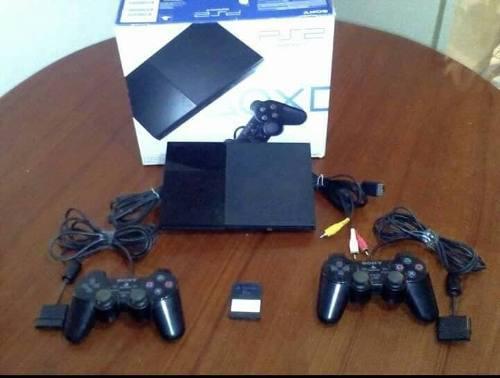 Playstation 2 Impecable Con Todos Sus Accesorios Y Juego