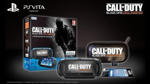 Ps Vita Edicion Call Of Duty, En Su Caja