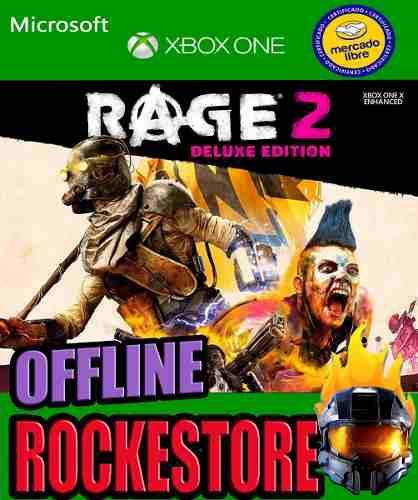 Rage 2 Deluxe Edition Offline Xbox One Rockestore