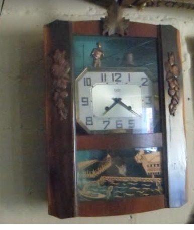 Reloj Antiguo Frances Marca Odo Excelentes Condiciones