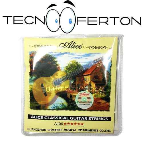 Set Cuerdas Guitarra Clasica Acustica Nylon Super Calidad