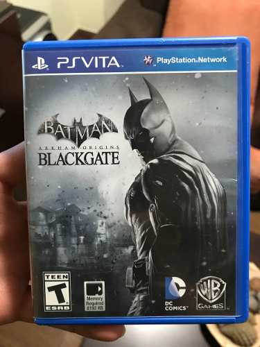 Vendo Juego De Batman Blackgate Para La Psvita