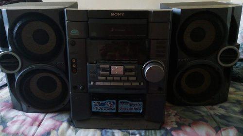 Equipo De Sonido Sony Cd, Doble Casett Radio