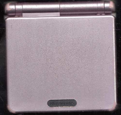 Game Boy Sp Consola No Incluye Cargador Detalle En Pantalla