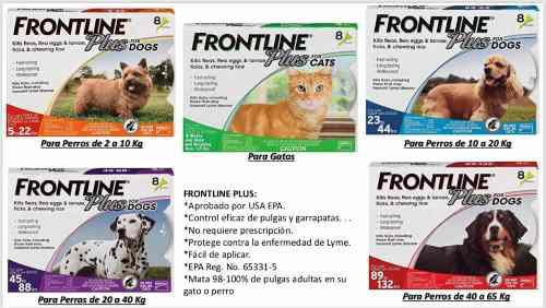 Pipetas Perros Y Gatos Impor. De Usa Anti Pulgas Y Garrapata