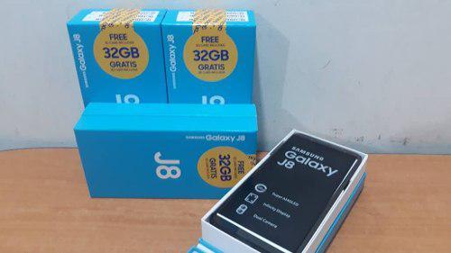 Samsung J8 De 32gb Ss 3gb Ram + Sim Card 32 Gb