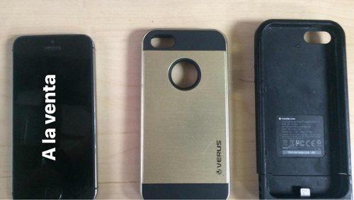 iPhone 5s 64 Gb Negro Liberado Sin Caja Apple Usb Lte