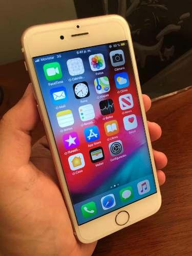 iPhone 6s De 64 Gb Liberado Con Su Cargador Impecable (220)