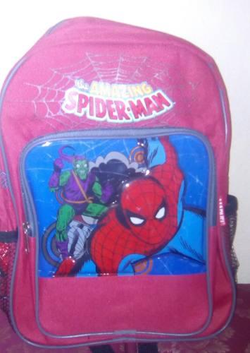 Bolso Escolar Spiderman