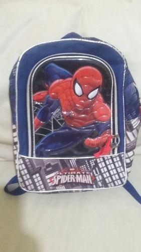 Bolso Morral Escolar Niños Spider-man Hombre Araña Jetbag