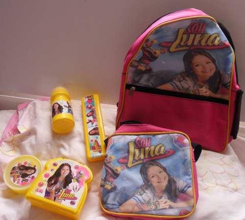 Bolso, Morral, Lonchera Para Niñas...soy Luna