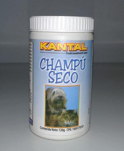 Champú Seco Para Mascotas Kantal 120g