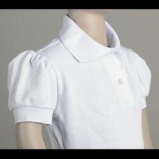 Chemises Escolares Blancas Para Niñas Talla 6, 8 Y 10