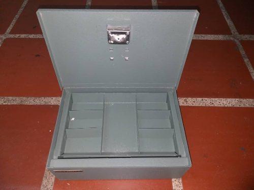 Cofre Metalico O Caja Chica De Seguridad Marca Detroit