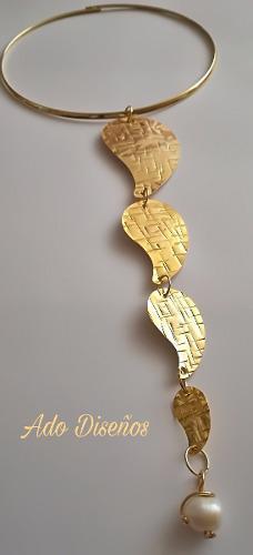 Collar Baño De Oro
