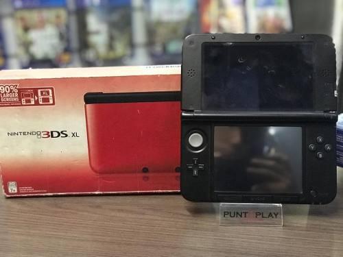 Consola Nintendo 3ds Xl Rojo Articulo Usado Somos Tienda
