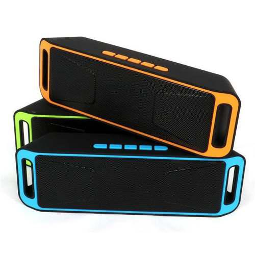 Corneta Altavoz Sc208 Speacker Bluetooth Radio Pendrive Sd