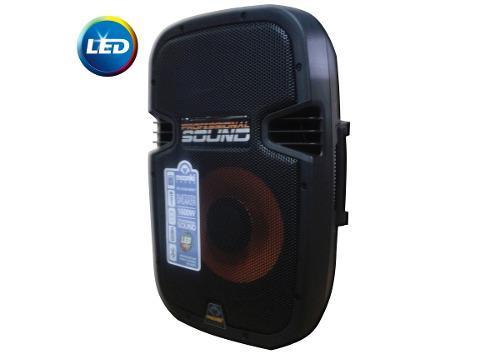 Corneta Moonki 1600w Usb Bluetooth Microfono Bagc
