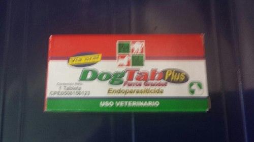 Desparasitante, Dog Tab Plus Y Endoparasiticida Perro Grande