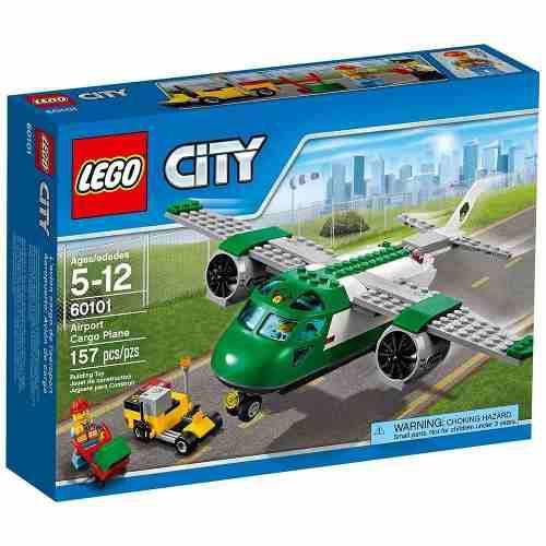 Lego City 60101 Avión De Mercancías 157 Pzs