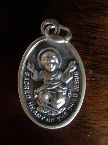 Medalla De Alpaca Divino Niño-angel De La Guarda