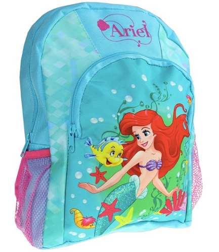 Morral Bolso Princesa Ariel Sirenita Disney Original Niña