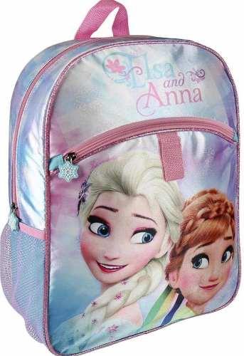 Morral Escolar Bolso Elsa Frozen Original Disney Para Niñas